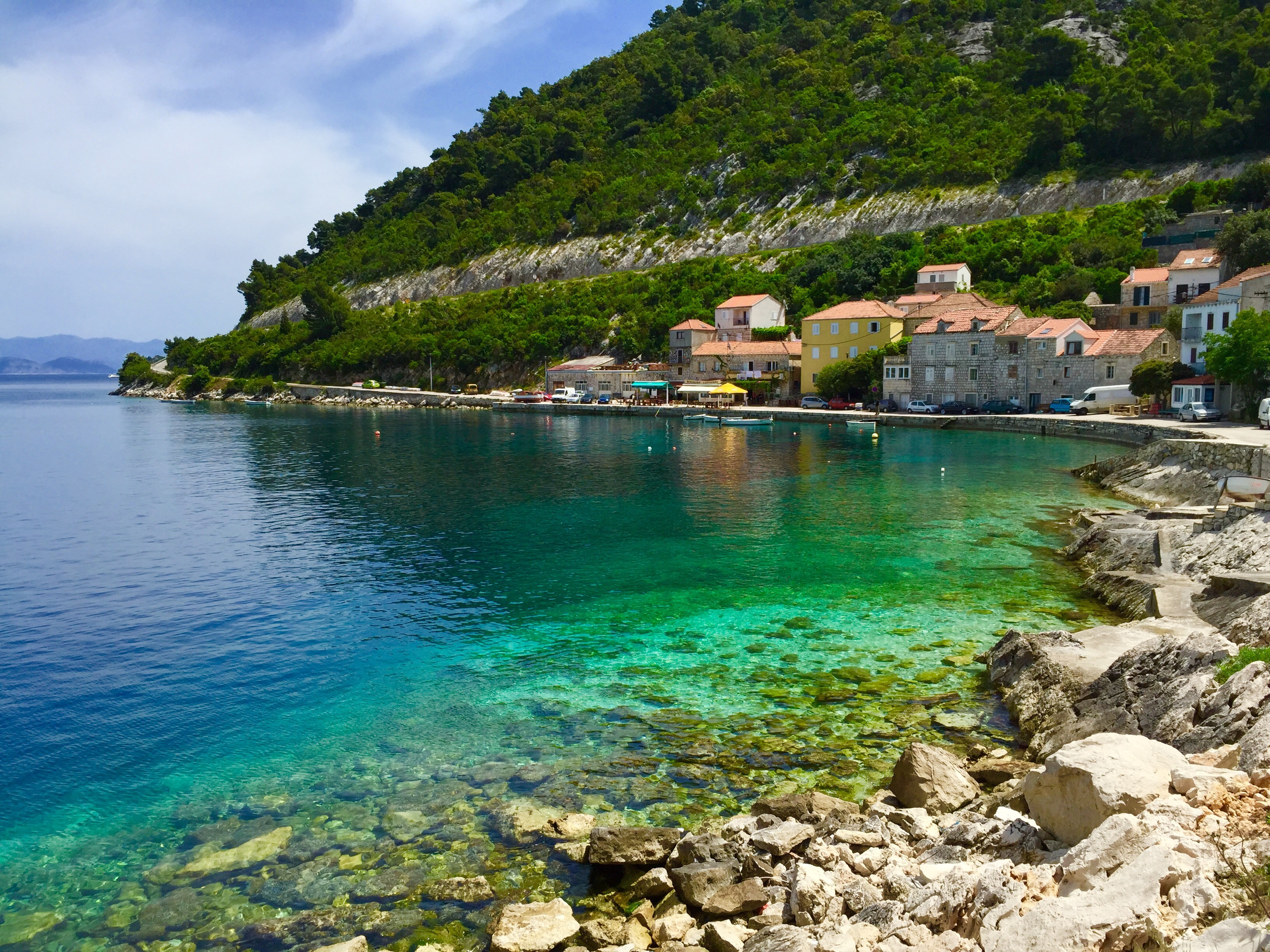 National park Mljet - great place for sailing in Croatia