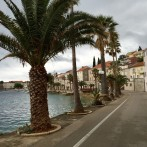 Rainy Days on Korcula, Croatia